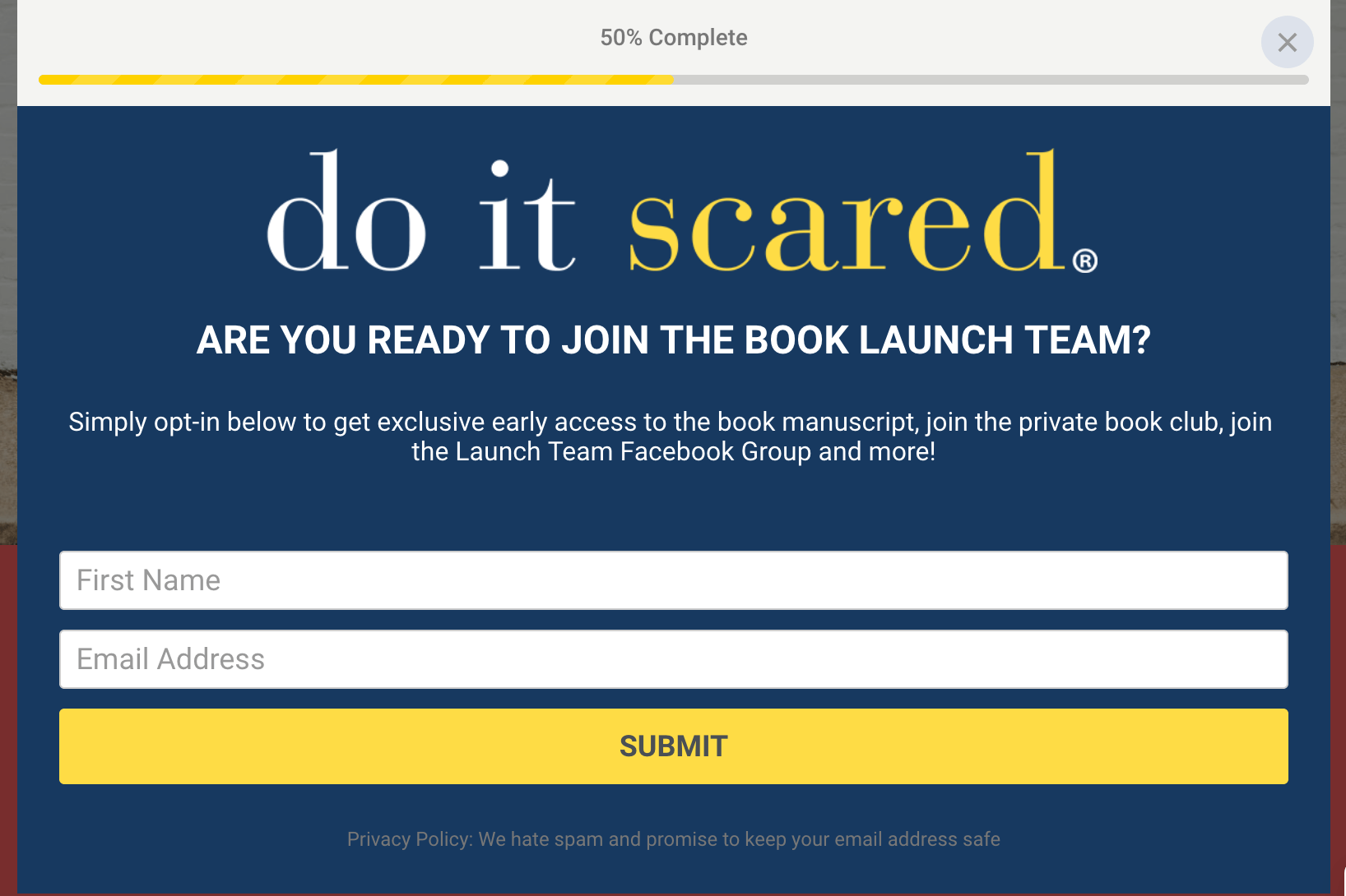 Step 3- Join the launch team!