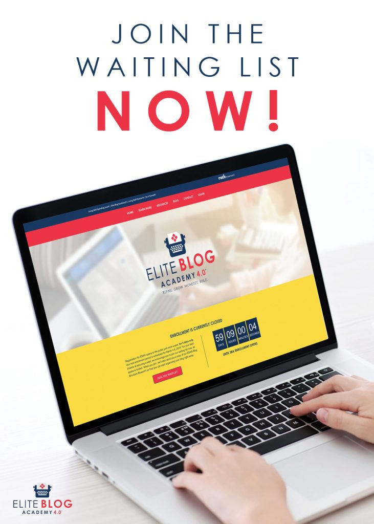 Elite Blog Academy 4.0 offers a comprehensive, step-by-step and proven framework for creating a successful, profitable blog. Join our waiting list today!
