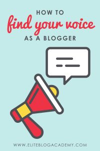 How to Find Your Voice as a Blogger