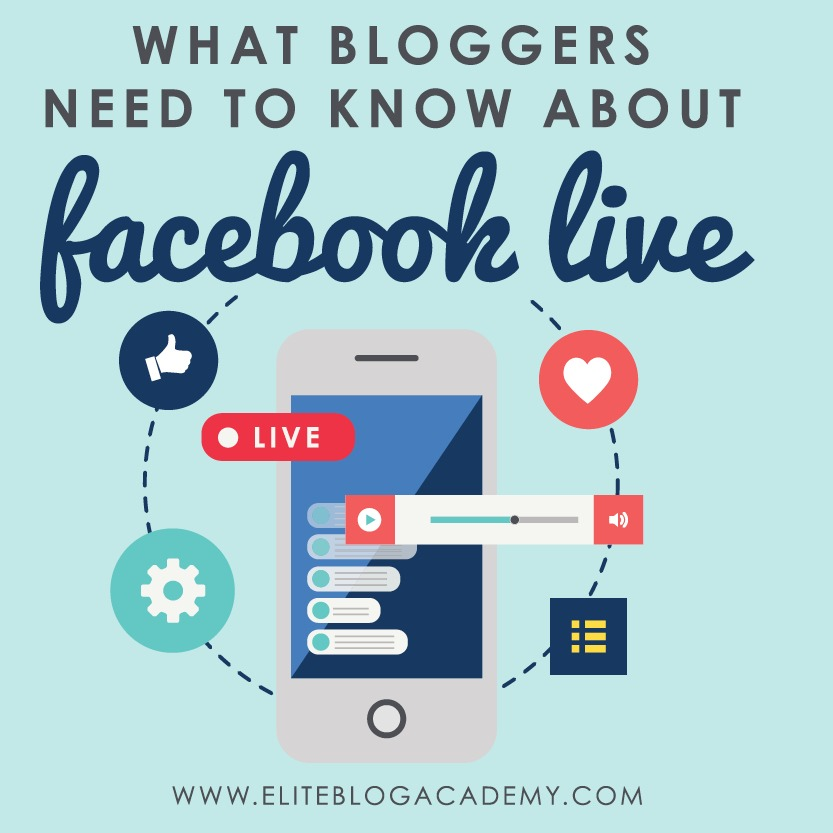 Getting started with Facebook Live? Don't miss these great tips on planning, promoting and hosting a live stream your readers will love. #livevideo #facebooklive #socialmedia #video #videotips #blogging #bloggingtips