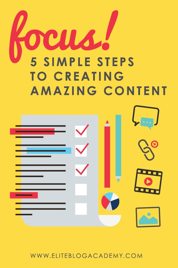 Want to know the secret to creating amazing content? The key to writing a killer blog post, or creating a killer video or podcast episode, one that will resonate with your readers, get them interested, and keep them coming back for more, is crystal clear FOCUS!