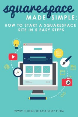 Do you have  a great idea for an online business that you're ready to make a reality? Squarespace might just be the solution you need! Here's how to get your website up and running in 5 simple steps.