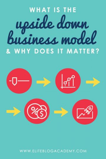 The Upside-Down Business Model flips the traditional business model and is the first essential success secret every online business owner needs to know.