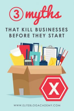 Want to start a business, but think everything has to be perfect before you start? Think again! Avoid these 3 traps that kill businesses before they start.