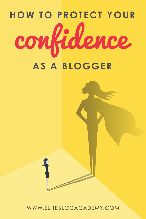 The hardest part of blogging is often learning how to silence the internal critic. If you've ever struggled with self-doubt, here's how to protect your confidence as a blogger!