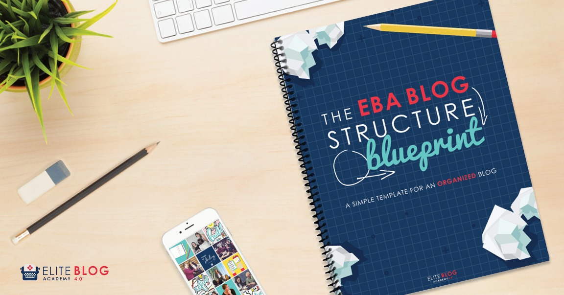 Get organized and write-Blog Structure Blueprint